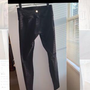 Lululemon Wonder Under Black Leggings